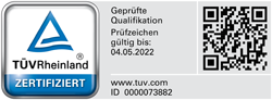 kayser-patentrecherche-koeln-tuev-logo-zertifikat